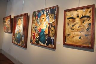 David Gosselin oil paintings