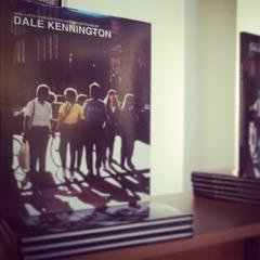Dale Kennington photography book display